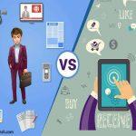 تفاوت بازاریابی سنتی و مدرن
